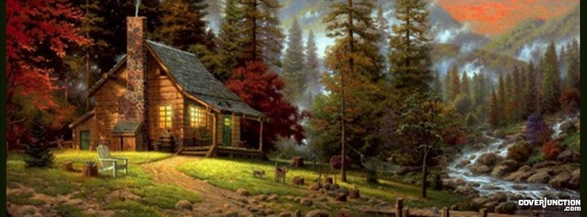 Thomas Kinkade facebook cover