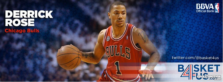 Derrick Rose Facebook Cover - CoverJunction