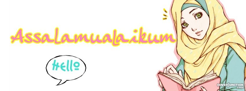 muslimah Facebook Cover - CoverJunction