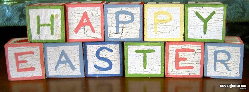 Easter Blocks facebook cover