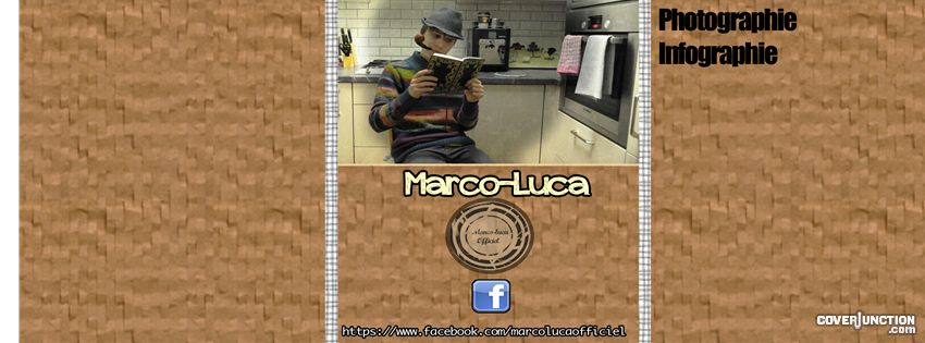 Marco-Luca Officiel Facebook Cover