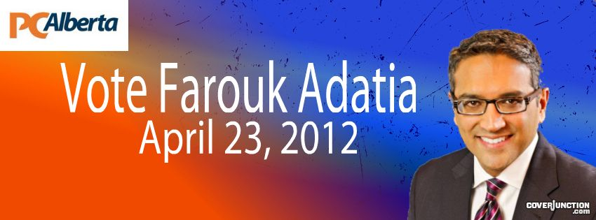 Vote Farouk facebook cover