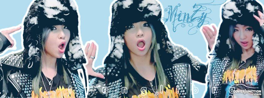 Minzy (2NE1) - MV Sream Facebook Cover