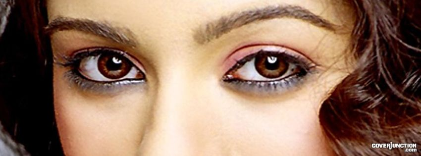 """beautiful eyes"" by-mamta bhatnagar Facebook Cover"