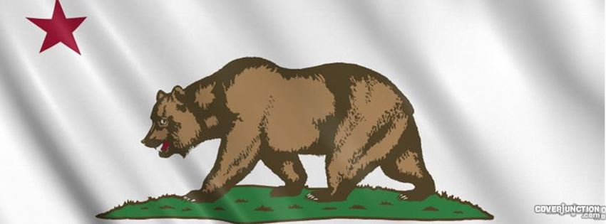 California Flag Facebook Cover