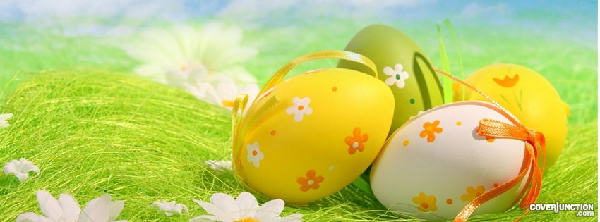 Happy Easter 9 facebook cover