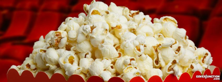 Popcorn Day Facebook Cover