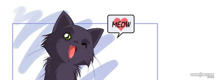 anime cat Facebook Cover