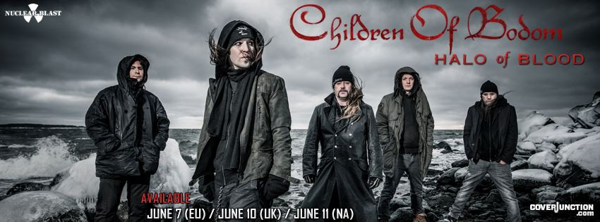 Children of Bodom -  Halo of Blood - 01 facebook cover