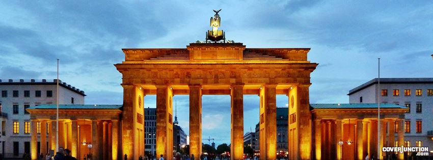 COVER JUNCTION wpdb.de Brandenburger Tor by Conmark facebook cover
