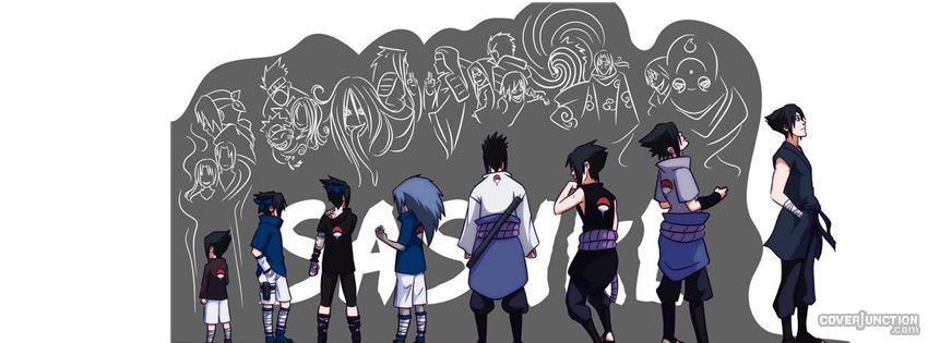 sasuke facebook cover