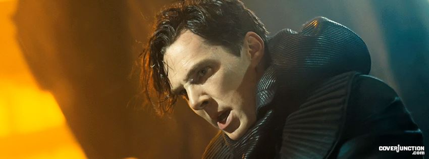 Star Trek Into Darkness - Benedict Cumberbatch  facebook cover