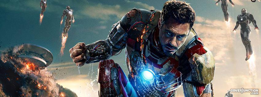 Iron Man 3  facebook cover