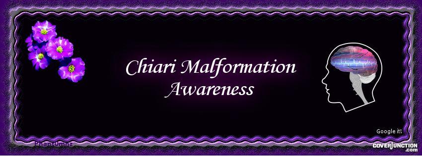 Chiari Malformation - Google it! facebook cover