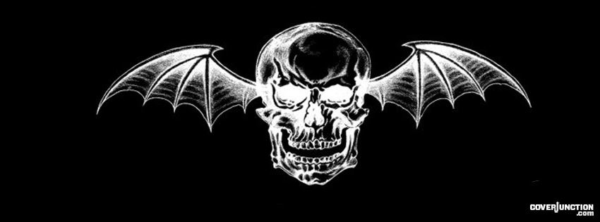 Skull Bat facebook cover