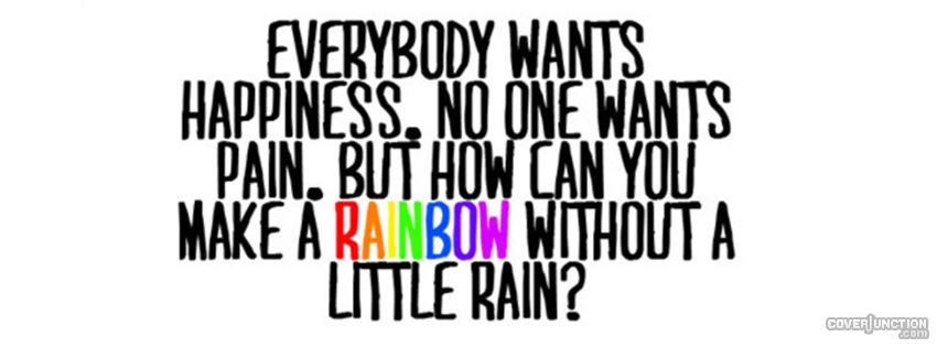 Little Rainbow Facebook Cover