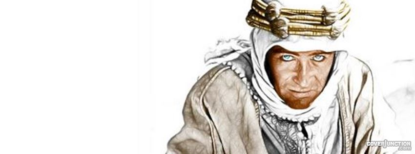 Peter O'Toole as Lawrence of Arabia Facebook Cover