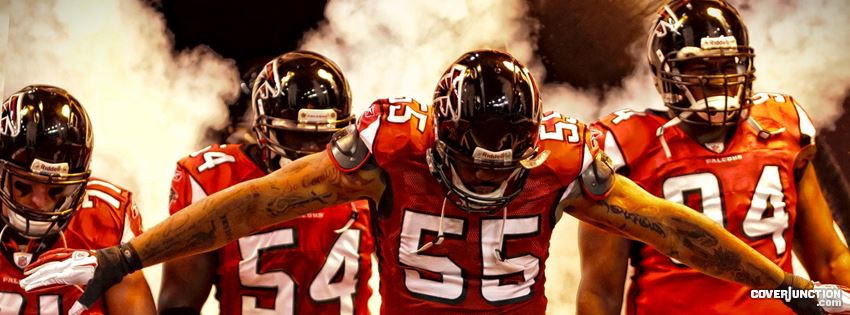 Falcons Rise Up!!! Facebook Cover