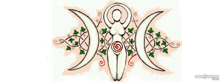 Moon Goddess Facebook Cover