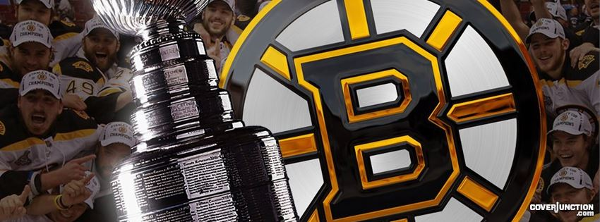 Boston Bruins Stanley Cup Champions 2 facebook cover
