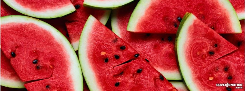 Juicy Watermelons Facebook Cover