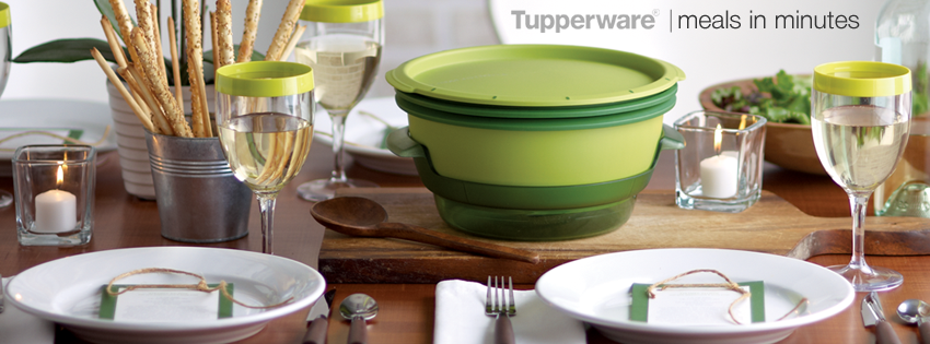 Tupperware Meals in Minutes Facebook Cover