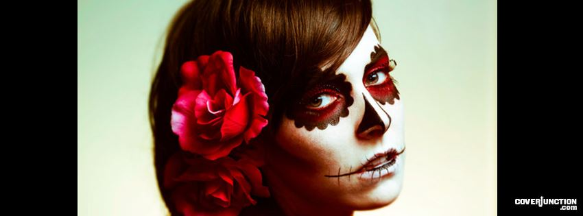 Sugar Skull Doll facebook cover
