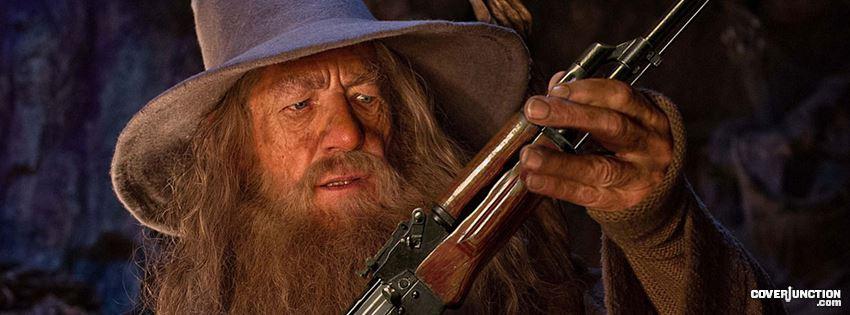 Gandalf facebook cover
