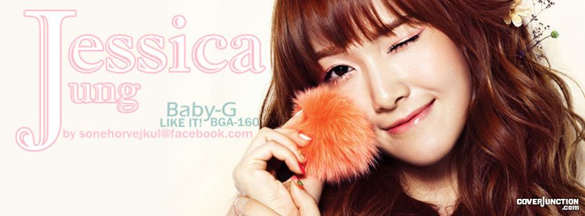 SNSD Jessica Baby-G Cute!! facebook cover