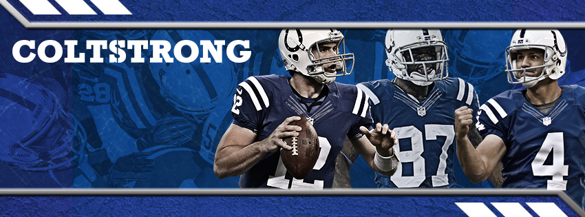 Luck, Reggie and Adam are COLTSTRONG facebook cover