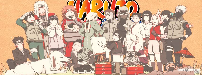 Naruto FB cover Facebook Cover