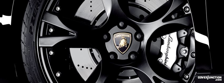 LAMBO WHEEL  Facebook Cover
