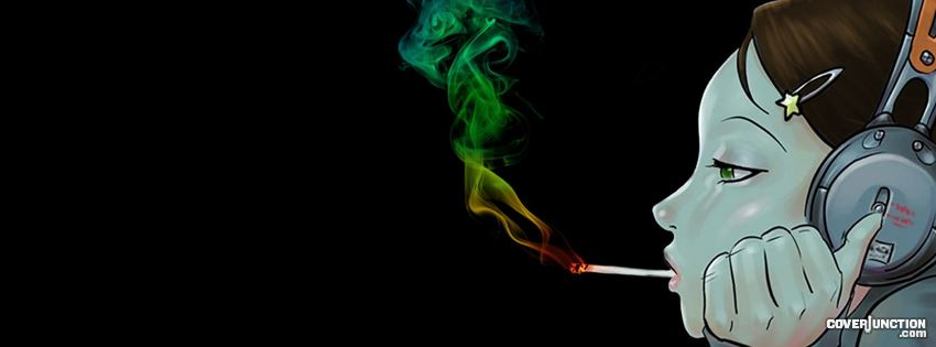Music & a Blunt. Just what i need . facebook cover