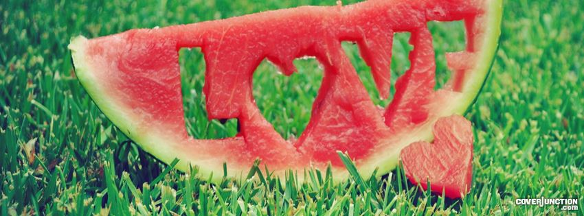 Watermelon Love Facebook Cover