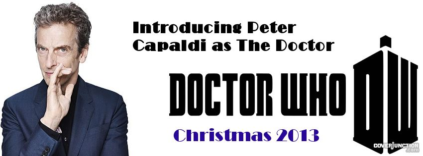 Peter Capaldi is The 12th Doctor Facebook Cover