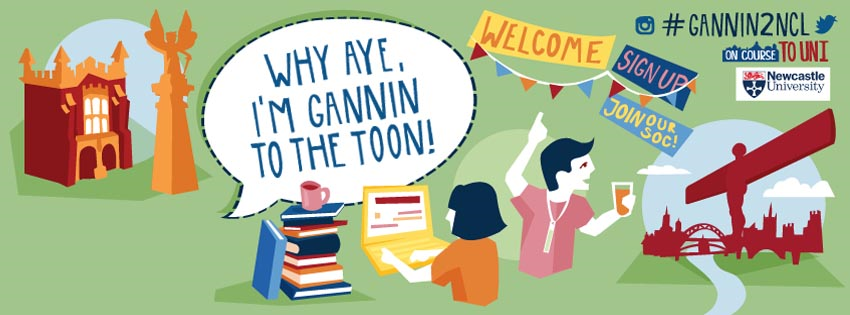 I'm gannin to the Toon! facebook cover