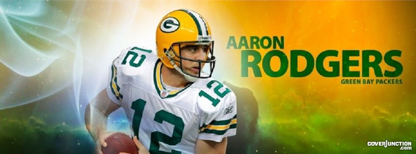 Aaron Rodgers - Green Bay Packers facebook cover