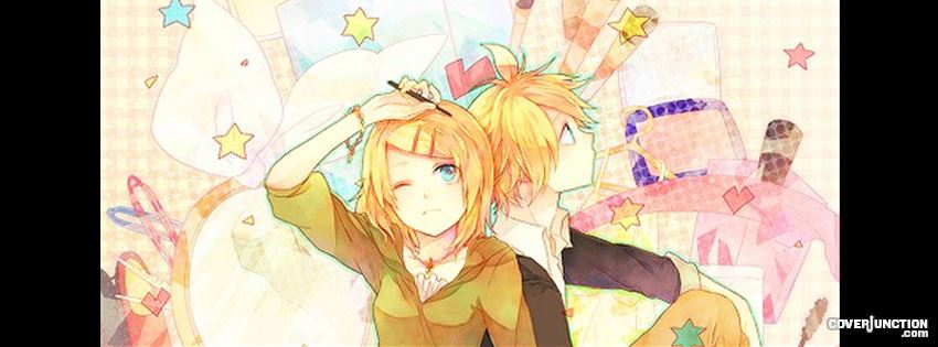 Rin&Len♥ Facebook Cover