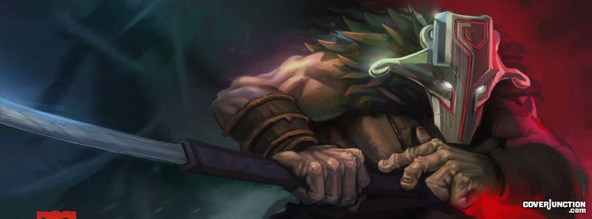 Dota 2 Juggernat Facebook Cover