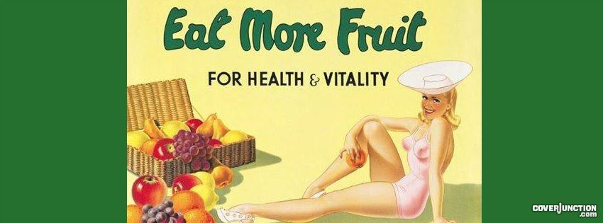 Eat more fruit facebook cover