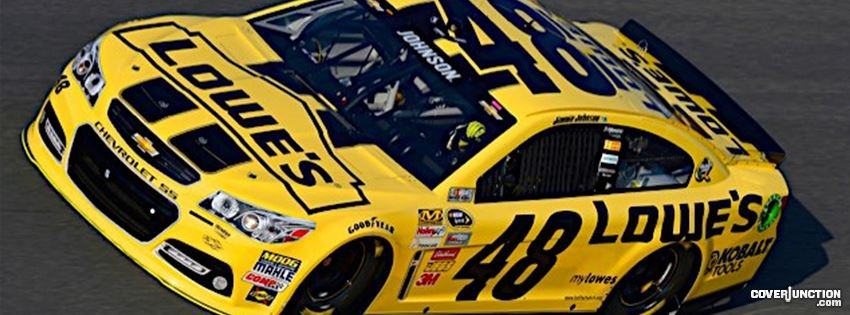 yellow lowes car Facebook Cover