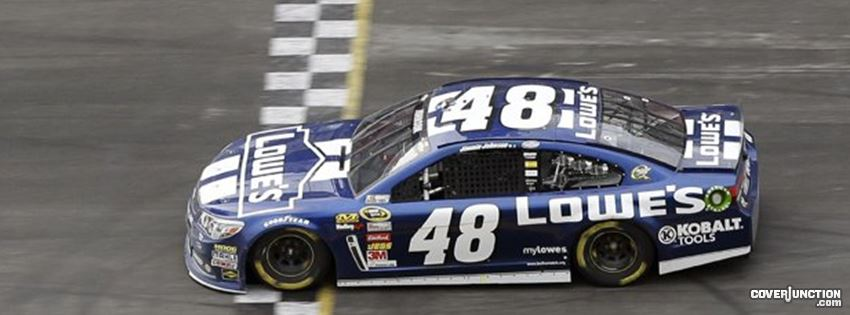 Jimmie Johnson #48 Facebook Cover