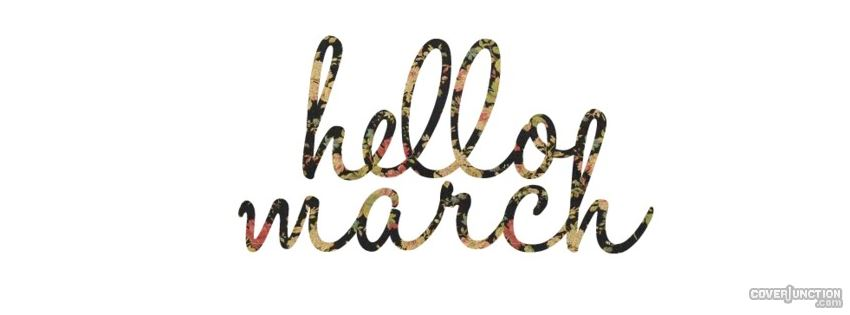 march Facebook Cover