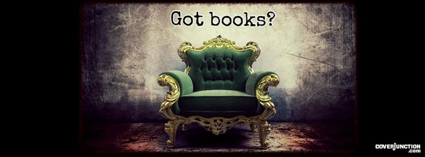Got books? facebook cover
