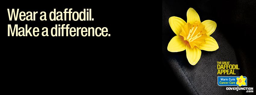 The Great Daffodil Appeal Facebook Cover