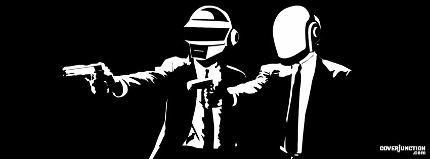 Daft Punk Facebook Cover