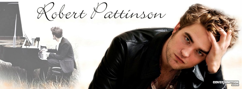 Robert Pattinson Facebook Cover