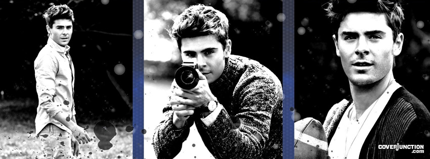 Zac Efron Facebook Cover