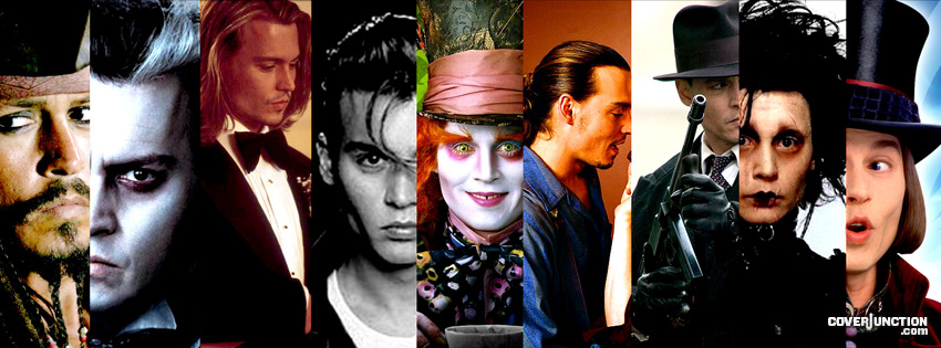 Johnny Depp Facebook Cover - CoverJunction