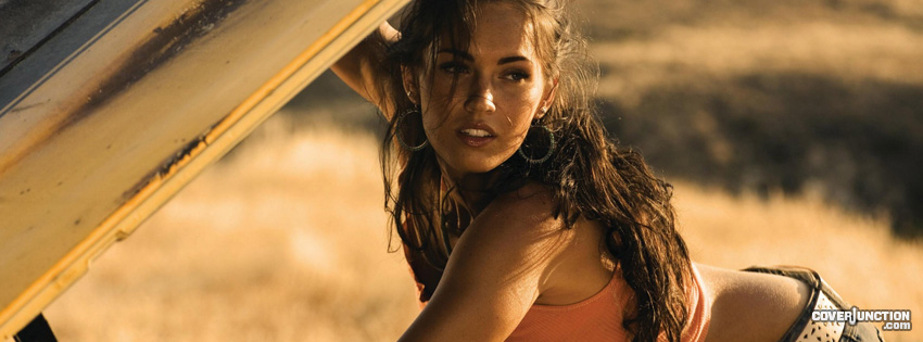 Megan Fox Facebook Cover - CoverJunction